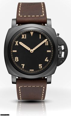 New for Watches & Wonders Panerai Luminor 1950 DLC with California Dial Panerai Luminor 1950, Panerai Watches, Unusual Watches, Cool Watches, Wrist Watches, Best Looking Watches, Rugged Style, Rolex Submariner, Beautiful Watches