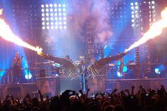 Rammstein twice Portland and Las Vegas