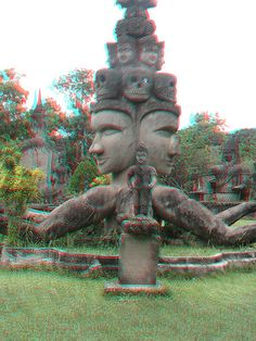 Buddha park anaglyph 3D BTW... get the 3D app for Android here: https://play.google.com/store/apps/details?id=com.JERASeng.illusions3DTube   //. Download the 3D Image Converter For Android --> https://play.google.com/store/apps/details?id=com.JERASeng.Pic2Glyph  you can generate 3D photos, out of a single image!!!!!