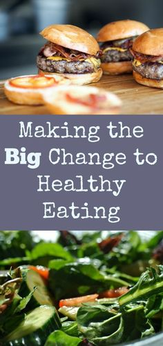 If you are ready to eat more healthfully, read this post!