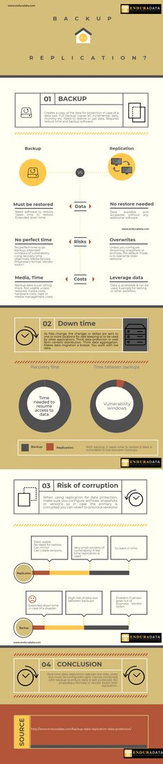 EnduraData Backup Replication Infographic