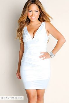 I wore this for my wedding party! My husband was in Awh! He LOVES this dress me :)on#PinYourWish @shopsexydresses