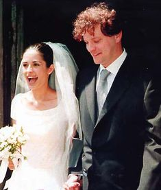 Colin Firth's 1997 wedding to Livia Giuggioli which took place in his wife's home country Italy.
