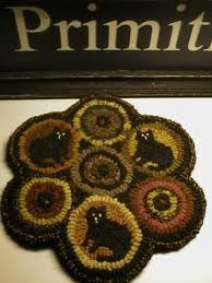 primitive hooked rugs - Google Search