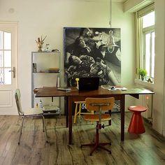Una mesa para todo!! #myhouse #upcycle #retro #vintage #industrial #instadaily #picoftheday #smile #interior #furniture #mueble #muebles #diydecor #diy #restauración #vintagestyle #