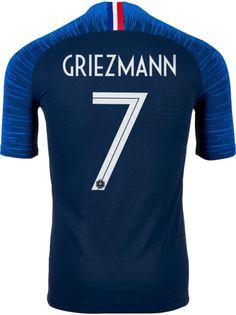6d97826e3 2018 19 Nike Antoine Griezmann France Home Match Jersey. France JerseyAntoine  GriezmannSoccer JerseysFootball JerseysFootball Shirts