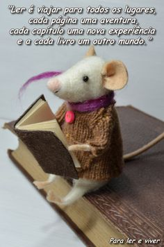 Adoro ler