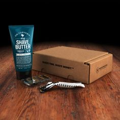 Get the 4X razor for $6 a month. Be sure to try out Dr. Carver's Easy Shave Butter for $8.
