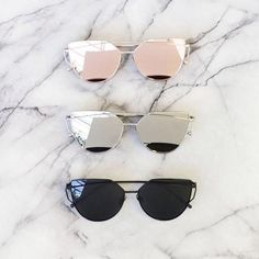 CALI LUXE SUNGLASSES Dimension  Width: 145mm Height: 52mm   100% UVA400Protection
