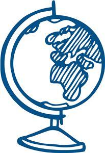 Silhouette Design Store - View Design #17795: globe