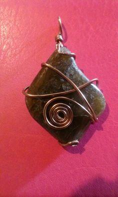 My wire wrapped stone
