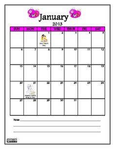 2013 Calendar - FREE PDF