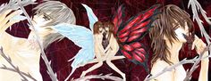 vampire knight kaname and zero - Google Search Rita Image, Yuki And Zero, Vampire Knight, Me Me Me Anime, Manga Anime, Google Search, Random, Fur, Casual