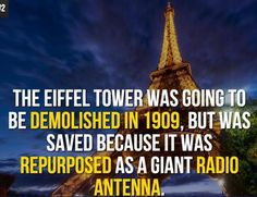 Top 18 Eiffel Tower Facts