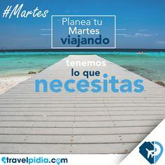 Con #TravelPIDIA los #Martes son con M de me voy de #Viaje