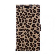 Huawei Honor 4C leopardi puhelinlompakko. #honor4c #huawei #tyyliluuri #suojakuoret #phonecase #leopard #leopardi