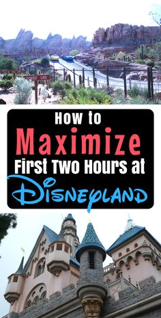 these insider tips for your first two hours at Disneyland amp; Disney s California Adventure park and maximize your time! Disney Vacation Planning, Disney Vacations, Disney Trips, Disney Parks, Trip Planning, Disneyworld Resorts, Disney Honeymoon, Parc Disneyland Paris, Disneyland Resort