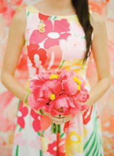 Lily Pulitizer Inspired Wedding | Southern Weddings V5: Freshly Squeezed « Southern Weddings Magazine