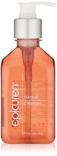 Epicuren Discovery Herbal Cleanser, 8 Fl oz: A mild, foaming gel that thoroughly cleanses the skin, while maintaining its optimum moisture levels. Natural Face Cleanser, Cleanser For Oily Skin, Moisturizer, Proactive Skin Care, Best Prenatal Vitamins, Exfoliating Soap, Pca Skin, Grooming Kit