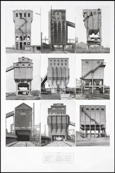 Bernd Becher and Hilla Becher, 'Coal Bunkers' 1974