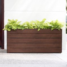 Belham Living Winfield Rectangle Planter - x x in. - The Belham Living Winfield Rectangle Planter - x x in. is the perfect backdrop for your most prized petals and stems. Tall Planter Boxes, Tall Planters, Outdoor Planters, Planter Pots, Clay Planter, Resin Planters, Rectangular Planters, Square Planters, Outdoor Wood Furniture