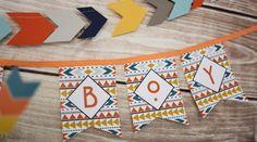 Tribal Little Brave Man themed baby shower via Kara's Party Ideas KarasPartyIdeas.com #tribalbabyshower (1)