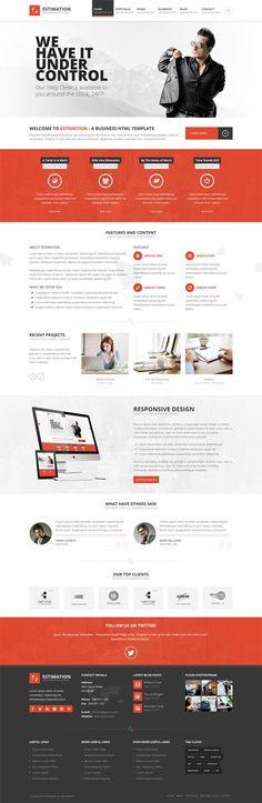 Estimation : Responsive Business HTML Template