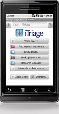 Android App - iTriage Mobile Health