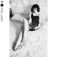 #Repost @mister__parker with @repostapp.  Here's @little_sofi doing pin up vintage vamp in @decadesvintageuk #vintage #lingerie #decadesvintage #littlesofi #chriswparker #photoshoot #photography #sensual #legs #feet #tattoo #wig #bed #pinup #bettiepage