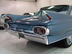 Love the fins and tail lights on the 1961 Cadillac!
