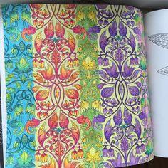 """""""#johannabasford #gizemliorman #esrarengizbahçe #esrarengizbahce #colors #color #coloring #coloringbook #fabercastell #marcoraffine #marcoraffinepencils…"""""""