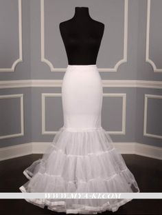 Mermaid Slip Petticoat Crinoline Discounted on Sale - Your Dream Dress Couture Wedding Gowns, Bridal Gowns, Discount Designer Wedding Dresses, Wedding Silhouette, Trumpet Gown, Under Dress, Dream Dress, Tulle Fabric, Marie