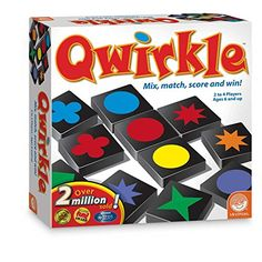 Qwirkle Board Game from Mindware This might be great for teams. Every time a team gets a point, they get a turn to play their pieces.
