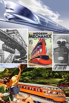 LocoMotives: Steamin' Hot Prototype & Concept Trains