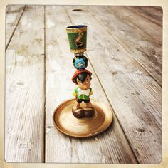 Recycled #pinocchio #candleholder #disney #diy