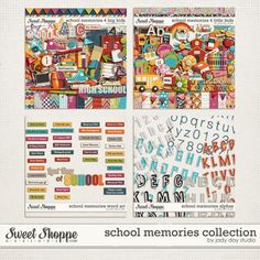School Memories Collection by Jady Day Studio. $14.99
