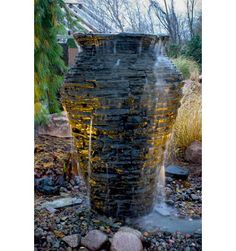 Can Be Either In A Ger Pond Propped Up To Near The Surface Or On Hidden Reservoir Decorative Stone Covered Grate Sunken Plastic Tub