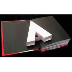 a pop-up book of the alphabet. This is such a cool book, you really have to see it in person.