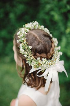floral crown | Harwell Photography #wedding
