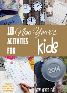 10 new years activities for kids