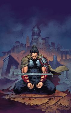 ETERNAL WARRIOR #5 Written by GREG PAK Art by DIEGO BERNARD  MUST READ VALIANT! All-new arc, all-new jumping-on point! Valiant's immortal champion builds a bridge to…4001 A.D.!  THE FUTURE HAS ARRIVED. Two thousand years from today, the planet has been transformed by science, technology…and war. The centuries have not been kind to the Earth's own undying warrior – but a battle that could change everything is just beginning right here in 21st century.   $3.99/T+ JANUARY 22nd!
