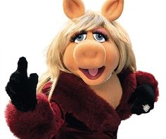 Beauty is in the eyes of the beholder. And it may be necessary from time to time to give a stupid or misinformed beholder a black eye.  Miss Piggy