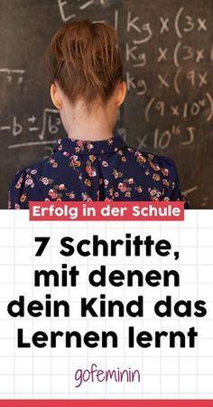 Auch richtig lernen will gelernt sein. Wir verraten, wie du dein Kind unterstützen kannst! #Lernen #richtiglernen #dasLernenlernen #Lernstrategien #Schule #schulkinder #SpaßinderSchule