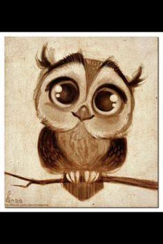 Cute owl..... ITS SO FRICKEN CUTE OMG OMG OOMGMGMMGGGOIDN2WUD0GDEPG[FGFVBTHEUJ8THRRYJ5YJ5YHER