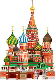 """Photo from album """"Россия"""" on Yandex. St Basils Cathedral, Stippling Art, St Basil's, Watercolor Architecture, Train Pictures, Building Art, Indigenous Art, Urban Sketching, Art Challenge"""