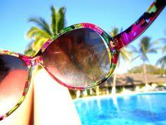 #sunglasses #summer #floral