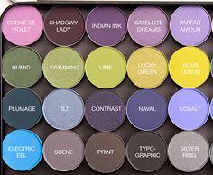 temptalia MAC colorful Eyeshadows 3 of 4