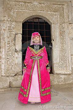 tatar pink dress