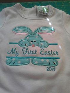 Split Applique Designs   Split Easter Applique Machine Embroidery