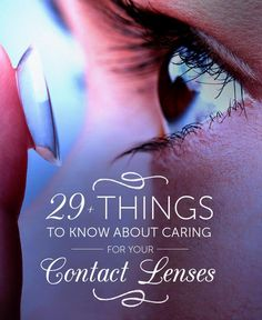 April is Women's Eye Health & Safety Month. If you wear contacts, read our tips that can help to protect your eyes.
